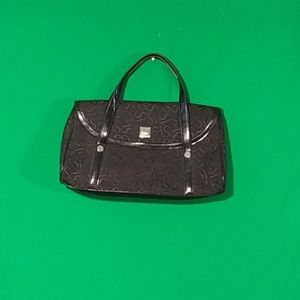 Vera wang medium black handbag